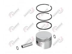 поршень и кольцо компрессора 92.00mm 7000921100 - Vaden