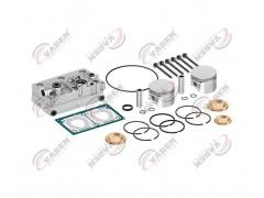 Головка цилиндра компрессора & комплект поршневых колец 85.00mm 131920 - Vaden