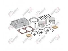 Головка цилиндра компрессора & комплект поршневых колец 85.00mm 110125 - Vaden