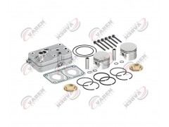 Головка цилиндра компрессора & комплект поршневых колец 85.00mm 112260 - Vaden