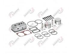 Головка цилиндра компрессора & комплект поршневых колец компрессора 75.00mm 131155 - Vaden