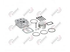 Головка цилиндра компрессора & комплект поршневых колец компрессора 92.00mm 150855 - Vaden