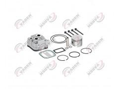 Головка цилиндра компрессора & комплект поршневых колец компрессора 80.25mm 200260 - Vaden